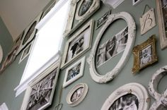 Great Idea for Hanging Photos