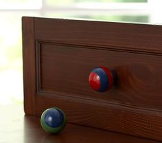 rugby stripe knobs