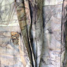 India Flint - shibusa Dyeing Fabric, How To Dye Fabric, India Flint, Fashion Textiles, Fibre Art, Indigo Dye, Wabi Sabi, Shibori, Textile Art