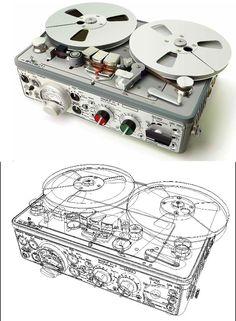 Nagra Version IV-S (Stereophonic) - 1971 Radios, Recorder Music, Tape Recorder, Recording Equipment, Audio Equipment, Magnetic Tape, Vinyl Music, Sound & Vision, Hifi Audio
