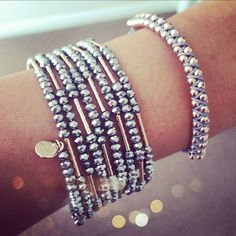 Love the way Stella & Dot does rose gold.