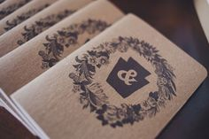 Creative Philadelphia Wedding - journals