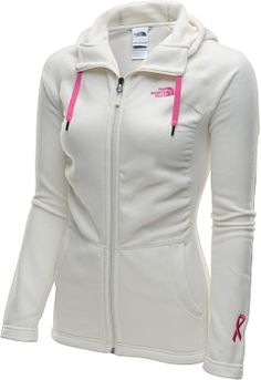 Support the cause right on the front lines in this women's Pink Ribbon Mezzaluna full-zip hoodie from THE NORTH FACE®!