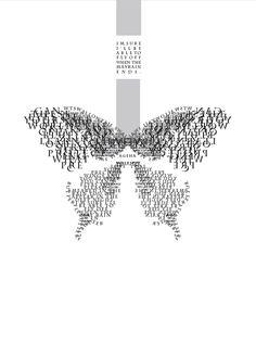 20 Animals Created Using Typography