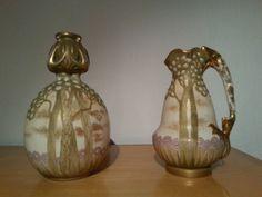 Vasenpaar der Firma Riessner, Stellmacher und Kessel (Amphora) - leider nicht mehr in meinem Besitz