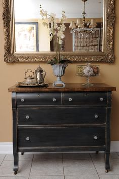 Kijiji: Beautiful Antique Empire Dresser