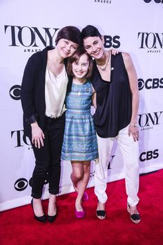 FUN HOME's three Alisons - Emily Skeggs, Sydney Lucas & Beth Malone - are all 2015 Tony nominees!