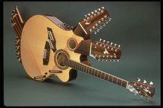 Pat Methany guitar | Pat Metheny's 42-string Pikasso guitar