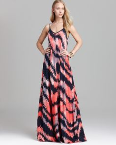 FRENCH CONNECTION Maxi Dress - Electra Jersey | Bloomingdale's