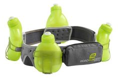 Road Runner Sports Go The Distance 4-bottle Belt Hydration definately need this for the 1/2 marathon!!!!