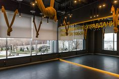 PALESTRA Fitness Club (full project) on Behance