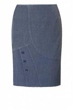 Love the lines of this skirt!  Edna Lima Design de Moda #FAZ