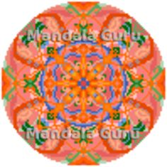 """Your personal DIY Mandala Design for Cross Stitch. This is Kelly's Mandala pattern, her zodiac is Taurus and fall is her favourite season. """"Stitching my Mandala is so relaxing and it helps me to deal with my anxiety"""" Mandala Pattern, Mandala Design, Cross Stitch Designs, Taurus, Anxiety, Stitching, Zodiac, Seasons, Fall"""