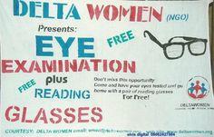 Free Eye Exam, Reading Glasses, Free Reading