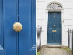 Octagonal Brass Door Knobs - Pair | Hardware | Pinterest | Door ...