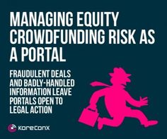 How to Manage Risk from the Equity Crowdfunding Portal Point of View