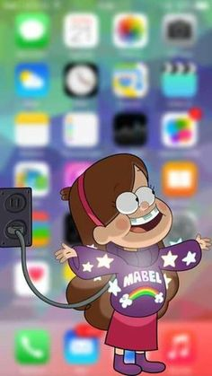 Image uploaded by Find images and videos about wallpaper, mabel and gravity falls on We Heart It - the app to get lost in what you love. Cartoon Wallpaper, Disney Wallpaper, Animal Wallpaper, Screen Wallpaper, Cool Wallpaper, Colorful Wallpaper, Black Wallpaper, Mobile Wallpaper, Photo Wallpaper