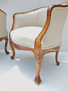 19th Century Slipper Chairs at 1stdibs