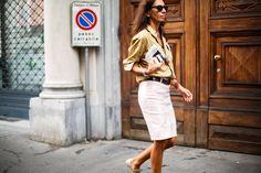 Viviana Volpicella  Milan Fashion Week