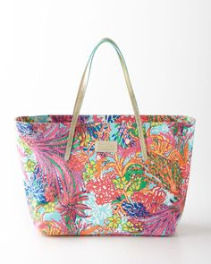 VIDA Foldaway Tote - Patterned Peacock by VIDA rqlhx5KqS