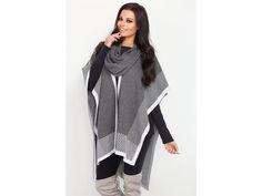 Pončo sivé F216 | Naj.sk Winter, Jackets, Fashion, Winter Time, Down Jackets, Moda, Fashion Styles, Jacket, Fasion