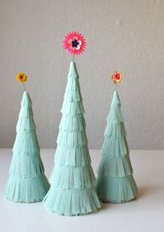 Mint christmas trees