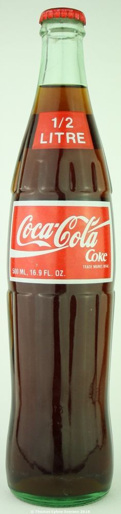 Unopened Grenada Coca-Cola ACL glass bottle ½ litre #CocaCola