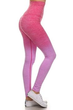 03287e9cedd5b2 The Ombre Legging from DYC Apparel - Our high waisted, dip-dye ombre  seamless