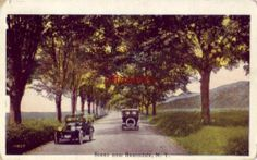 Scene Near Rosendale NY Vintage Autos on Road 1922 Hudson Valley, Worlds Largest, Vintage Cars, 1920s, Country Roads, Scene, York, Ebay, Autos