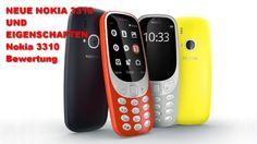 NEUE NOKIA 3310 UND EIGENSCHAFTEN Nokia 3310 Bewertung
