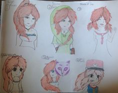 Shinju drawn in different styles from Zelda games which ones do u guys like?