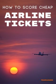 Tips and tricks for finding the best deal on air tickets... How to plan your trip without breaking the bank!   Blog by Travel Dudes: Community for Travelers, by Travelers!