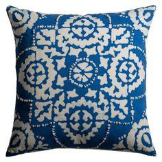 Rizzy Home Symmetrical Damask Decorative Pillow - PILT09699NLCR1818