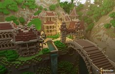Minecraft Castle Adventure Map