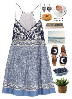 """""""Untitled #1406"""" by timeak ❤ liked on Polyvore featuring Chloé, Aquazzura and Lulu Frost"""