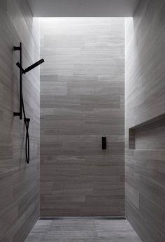 Shower - Lavastone House in Toorak Australia by B.E Architecture