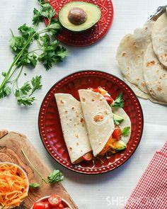 Homemade tortillas - surprisingly simple!    by sheknows #tortillas