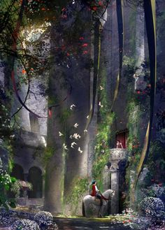 I Heard You Singing - by Stephan Martinieregiclee on canvas