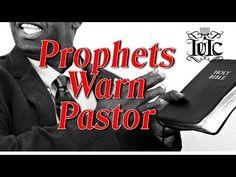 IUIC: Prophets Warn Pastor Sean Coney of Kingdom Seekers Church