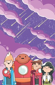 'Bravest Warriors' Gets Covers From Hesse, Edwards, Lawrence And Faerber [Art] Cartoon Tv, Cartoon Shows, Cute Cartoon, Pendleton Ward, Warriors Wallpaper, Bravest Warriors, Adventure Time Anime, Cover Art, Nerdy