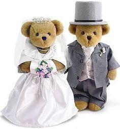 Bride and Groom Teddy Bears | Teddy Bear Factory
