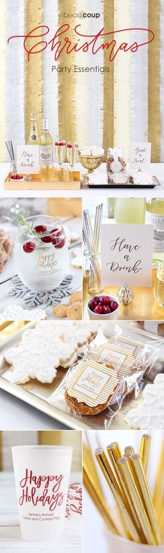 Throwing a Christmas party? We've rounded up our favorite Christmas party essentials to help you throw the perfect party!