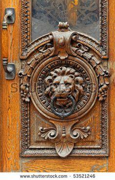 Image detail for -Antique Door Knocker From Door In The Old Town Of Helsinki, Finland ...