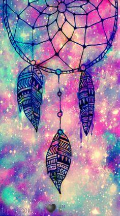 """Dreamcatcher sparkle"" galaxy wallpaper I created!"