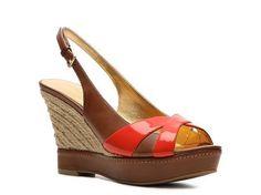 Audrey Brooke Aggie Wedge Sandal Dress Sandals Sandal Shop Women's Shoes - DSW