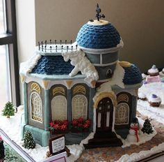 Entry in The National Gingerbread House Competition @ The Grove Park Inn - Asheville, NC