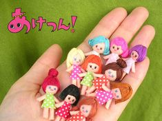 『PLAY ROOM展』のお知らせです〜♪ 先日ご紹介したちいさ〜いフェルト人形ちゃんは… 大きな指輪や、 たのし〜いネックレスになりましたよ(... Tiny Dolls, Soft Dolls, Miniature Crafts, Miniature Dolls, Doll Clothes Patterns, Doll Patterns, Plush Dolls, Doll Toys, Clothespin Dolls