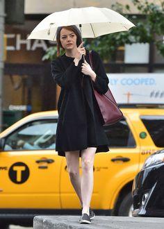 Le look d'hiver d'Emma Stone