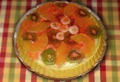 Pudingos gyümölcstorta recept képpel. Hozzávalók és az elkészítés részletes leírása. A pudingos gyümölcstorta elkészítési ideje: 70 perc