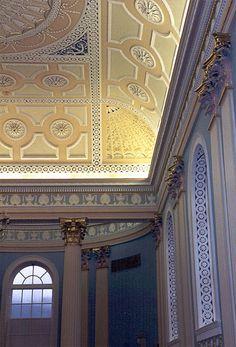 Georgian plaster ceiling